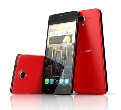 """Alcatel One Touch Idol X announced with 5"""" 1080p Display 