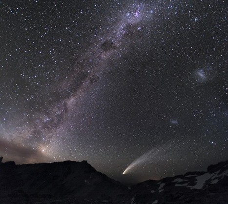 APOD: 2007 March 30 - Three Galaxies and a Comet   Astronomy News   Scoop.it