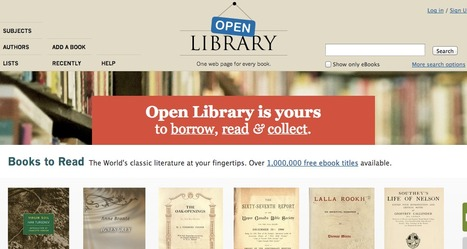 Welcome to Open Library | Book Week 2015 Books light up our world | Scoop.it