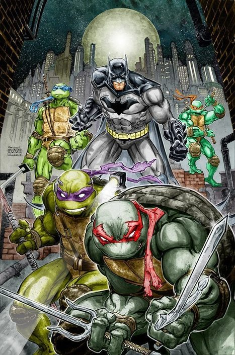 Batman Teenage Mutant Ninja Turtles Crossover Comic Announced - Film - /FILM | Comic Book Trends | Scoop.it