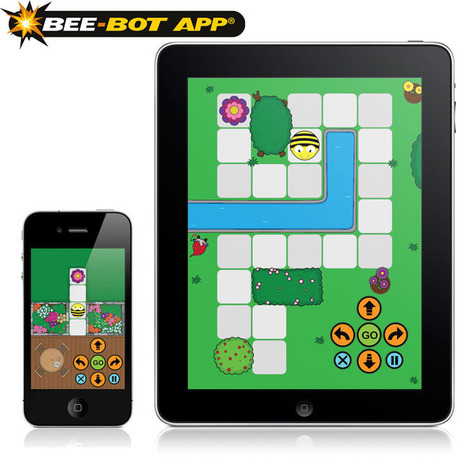 Bee-Bot Floor Robot - converted to app | Computer games in Classrooms | Scoop.it