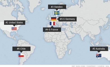 The best countries for women entrepreneurs | Womenomics | Scoop.it
