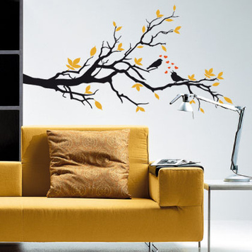 28 Glorious and Inspirational Wall Sticker Designs | Design | News, E-learning, Architecture of the future at news.arcilook.com | Architecture e-learning | Scoop.it