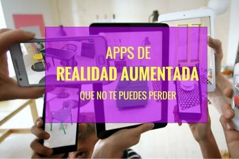 Las mejores apps de realidad aumentada que no puedes perderte | TICE Tecnologías de la Información y la Comunicación en Educación | Scoop.it