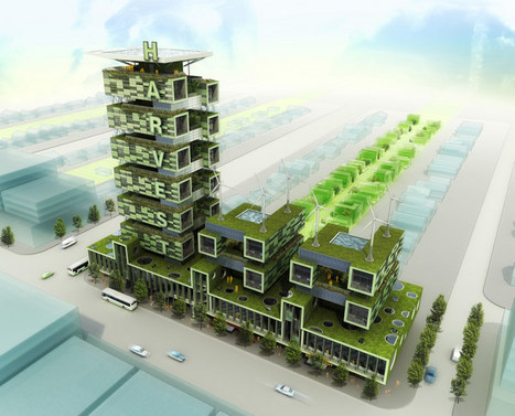 The Harvest Tower is a Sustainable Vertical Farm | sustainable architecture | Scoop.it