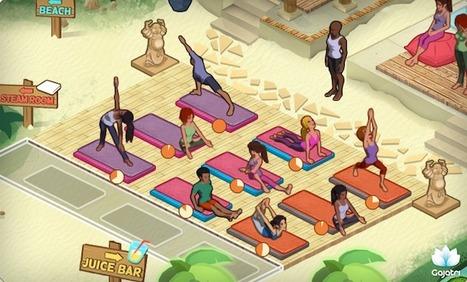Gajatri Studios reveals the first social yoga game forFacebook | Educational games in school | Scoop.it
