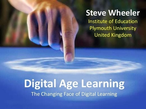 Digital Age Learning | Learning today | Interesting Things | Scoop.it
