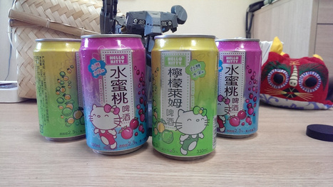 Introducing The Wonderfully Weird Hello Kitty Beer - Kotaku | The Daily Ale | Scoop.it