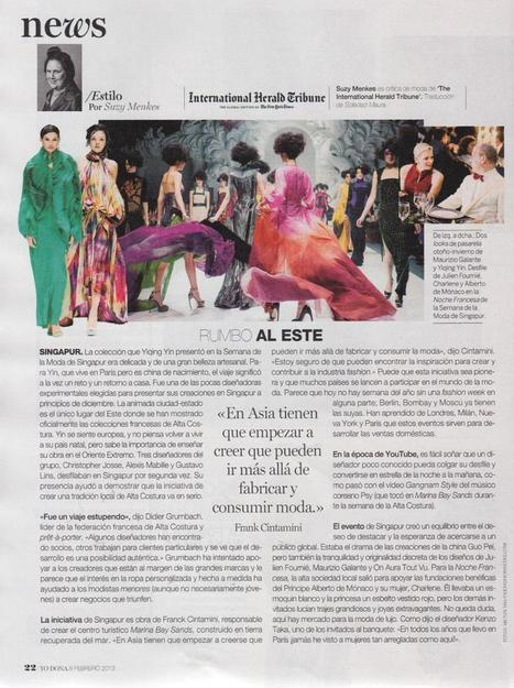 Julien Fournié featured in Yo Dona Spain February... | Julien Fournié | Scoop.it