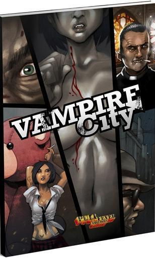 Vampire City en précommande chez Pulp Fever : Affutez vos canines !... | Jeux de Rôle | Scoop.it
