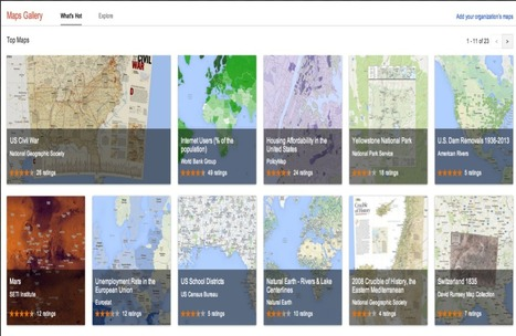Google Maps Gallery Now Offers Hundreds of Educational Maps to Use in Class | iEduc | Scoop.it