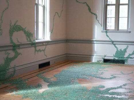 Maya Lin Used 168,000 Marbles to Model the Chesapeake Bay   Suburban Land Trusts   Scoop.it