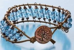 Make An Armful of Easy Beaded Bracelets With Wire Wrapping ... | Beadwork | Scoop.it