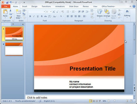Best PowerPoint Templates for Social Business presentations | PPT Presentation | Designing presentations | Scoop.it