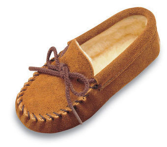 Pile Lined Slipper - Shop Mens, Womens, Childrens Moccasins - The Moccasin Shop | Minnetonka Moccasin Shop | Scoop.it