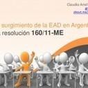 Del surgimiento de la Educación a Distancia en Argentina a la CONEAU y la resolución 160/11-ME | Humano Digital por Claudio Ariel Clarenc | Educar con las nuevas tecnologías | Scoop.it