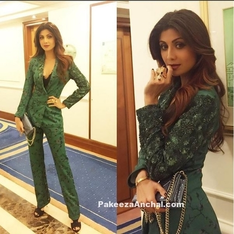 Shilpa Shetty Dressed for the Occasion by Namrata Joshipura | Indian Fashion Updates | Scoop.it