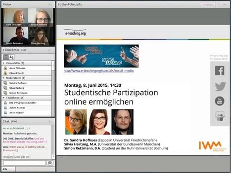 Studentische Beteiligung online ermöglichen — e-teaching.org | LMS & mobile learning | Scoop.it