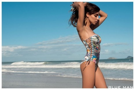First Look: Transsexual Model Lea T. in Blue Man's Swimsuit Campaign Shot by Terry Richardson | Lipstick Whisper | Scoop.it