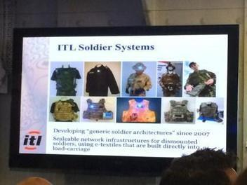 The Intelligent Soldier System: Military Wearables | Internet of Things - Technology focus | Scoop.it
