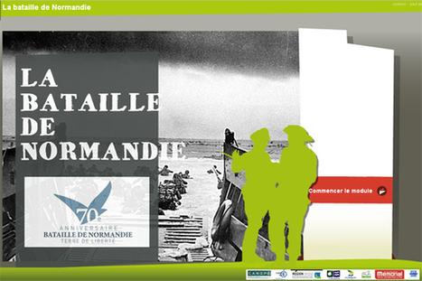 La bataille de Normandie – D-Day (applications, site interactif, jeux…) | | TICE, Web 2.0, logiciels libres | Scoop.it