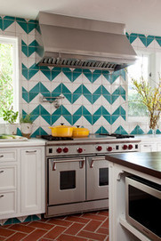 Chevron, Herringbone, Flame Stitch: What's the Difference? | Designing Interiors | Scoop.it