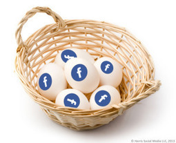 Are all your social media eggs in one basket? - The risk of focusing just on Facebook or Twitter | Harris Social Media | Scoop.it