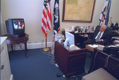 Inside Job: Cheney Reportedly Holding Back Smile in 9/11 Photo | Building a Web Presence | Scoop.it