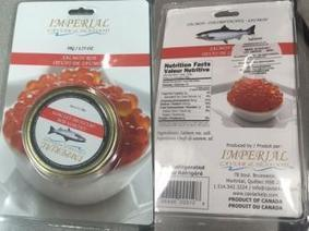 CFIA: Imperial Caviar & Seafood Brand Salmon Roe Recalled | Aquaculture Directory | Aquaculture Directory | Scoop.it
