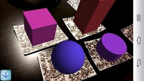 R&eacute;alit&eacute; augment&eacute;e pour l'enseignement<br/> - Poly&egrave;dres augment&eacute;s &ndash; | Tablettes num&eacute;riques | Scoop.it