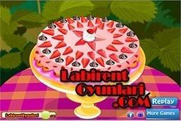Çilekli Yaş pasta yap | oyunlar,oyun oyna,bedava oyunlar,labirent oyunları | Scoop.it