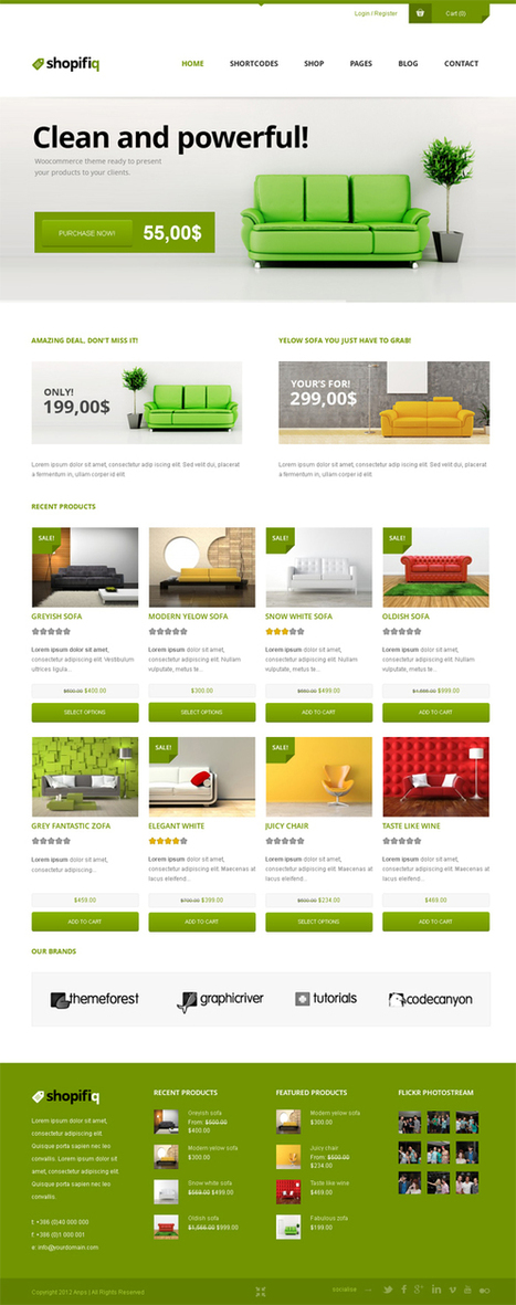 Shopifiq, WordPress Responsive WooCommerce Theme | WP Download | Shopifiq download cunty | Scoop.it