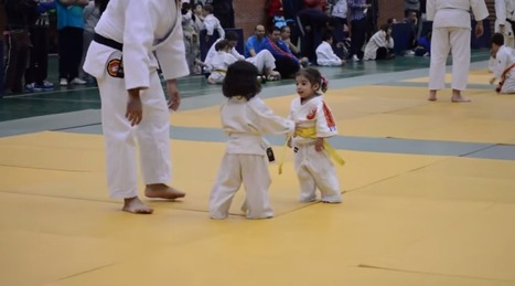 Cute kids star in most adorable judo match ever - Metro | judo | Scoop.it