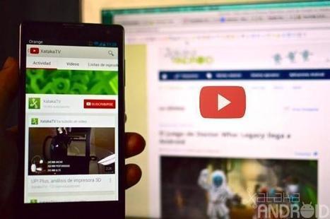 La aplicación de YouTube se actualiza 5.3.23, novedades y mejoras | Android y más | Scoop.it