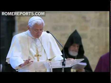 Benoît XVI à Assise: la revanche de Saint François à la Portioncule | christian theology | Scoop.it