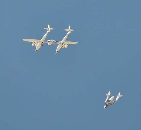 Another SpaceShipTwo Test Flight this Month? | Parabolic Arc | The NewSpace Daily | Scoop.it