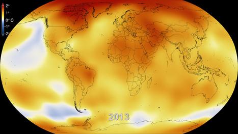Las altas temperaturas de 2013 confirman de nuevo la tendencia del calentamiento global | Los sistemas fluidos externos y su dinámica. | Scoop.it
