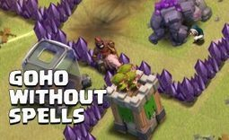 How to use GoHo Without Spells at Town Hall 8 | Clash of Clans Tips | Scoop.it