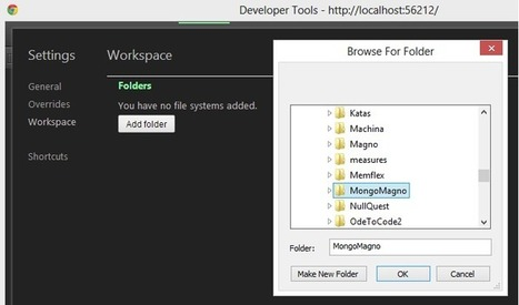 Chrome Workspaces: Edit Source From The Chrome Dev Tools | Chrome DevTools | Scoop.it