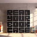 A Modular Typographical Bookcase by Saporiti | Colossal | The brain and illusions | Scoop.it