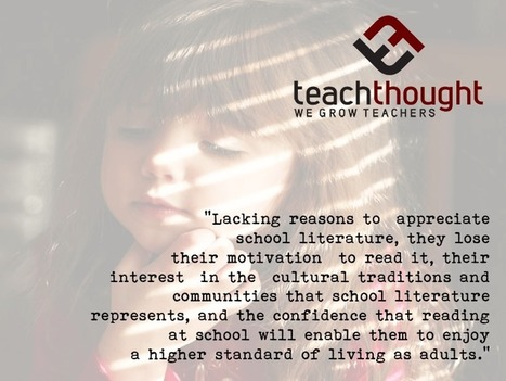 The Highest Literacy Is Understanding The Value Of A Text - | K-12 School Libraries | Scoop.it