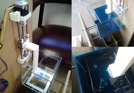 Open source resin 3D printers in development | Networked Labour | Scoop.it