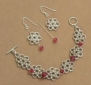 Free Chain maille Jewelry Patterns | DIY Chain Maille Tutorials | Scoop.it