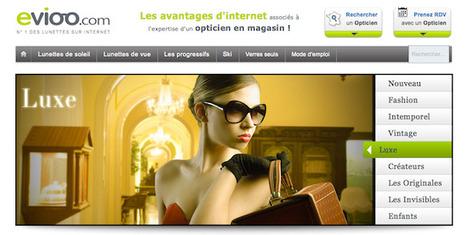 Evioo un nouveau dispositif web-to-store pour les opticiens | Trafic ... | le monde des lunettes online | Scoop.it