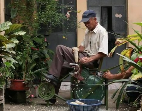 In Guatemala, Pedal Powered Machines Pump Water, Grind Coffee and Much More (Video) | Climate & Clean Air Watch | Scoop.it