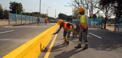 Tránsito y Conalvías ajustan señalización en zona de desvíos en el Paso del Comercio   Conalvías   Scoop.it