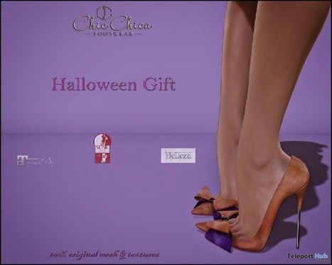 Dolores Heels Halloween Gift by ChicChica | Teleport Hub - Second Life Freebies | Second Life Freebies | Scoop.it