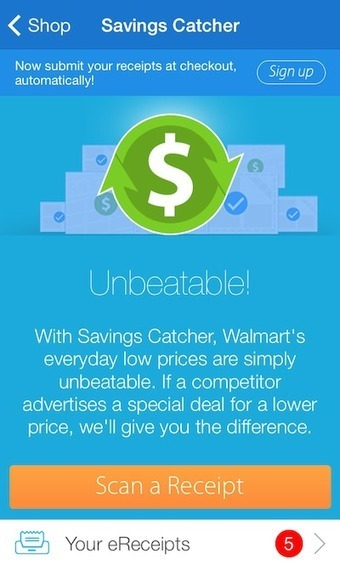 Walmart's price-comparison tool catapults app downloads to new heights - Mobile Commerce Daily - Applications | Digital commerce | Scoop.it