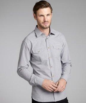 Brioni blue check cotton snap front shirt | Super HIT BRANDS | Scoop.it