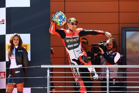 Davies hails 'dream' weekend with Ducati upgrades  | Ductalk Ducati News | Scoop.it